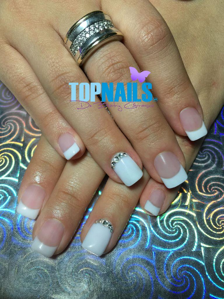 U as acr licas y cristal swarovski acrylic nails for Cristales swarovski para decorar unas