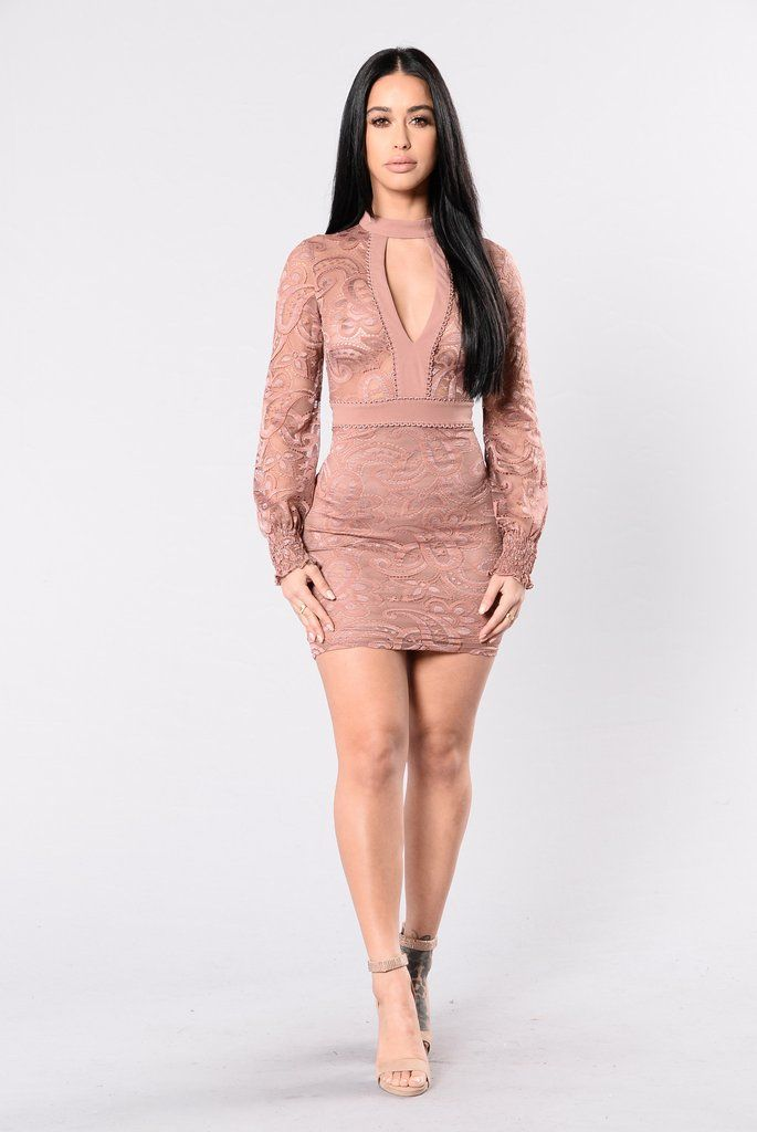Only For The Elite Dress - Dusty Rose | Moda mujer, Textura y Puntos