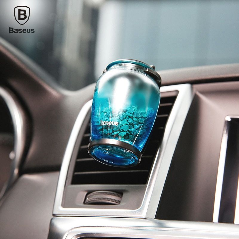 Baseus Aromatherapy Car Holder Universal Car Air Vent Air Freshener Car Holder Luxury Natural Zeolite Fragrance Car H Car Freshener Car Fragrance Air Freshener