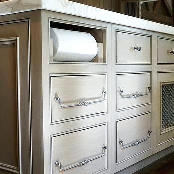 Image result for cabinet paper towel holder | Kitchen ...
