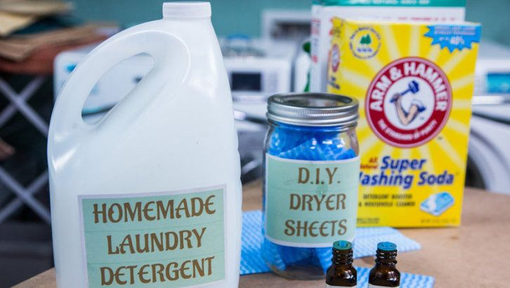 Diy Laundry Detergent Dryer Cloths Diy Laundry Detergent