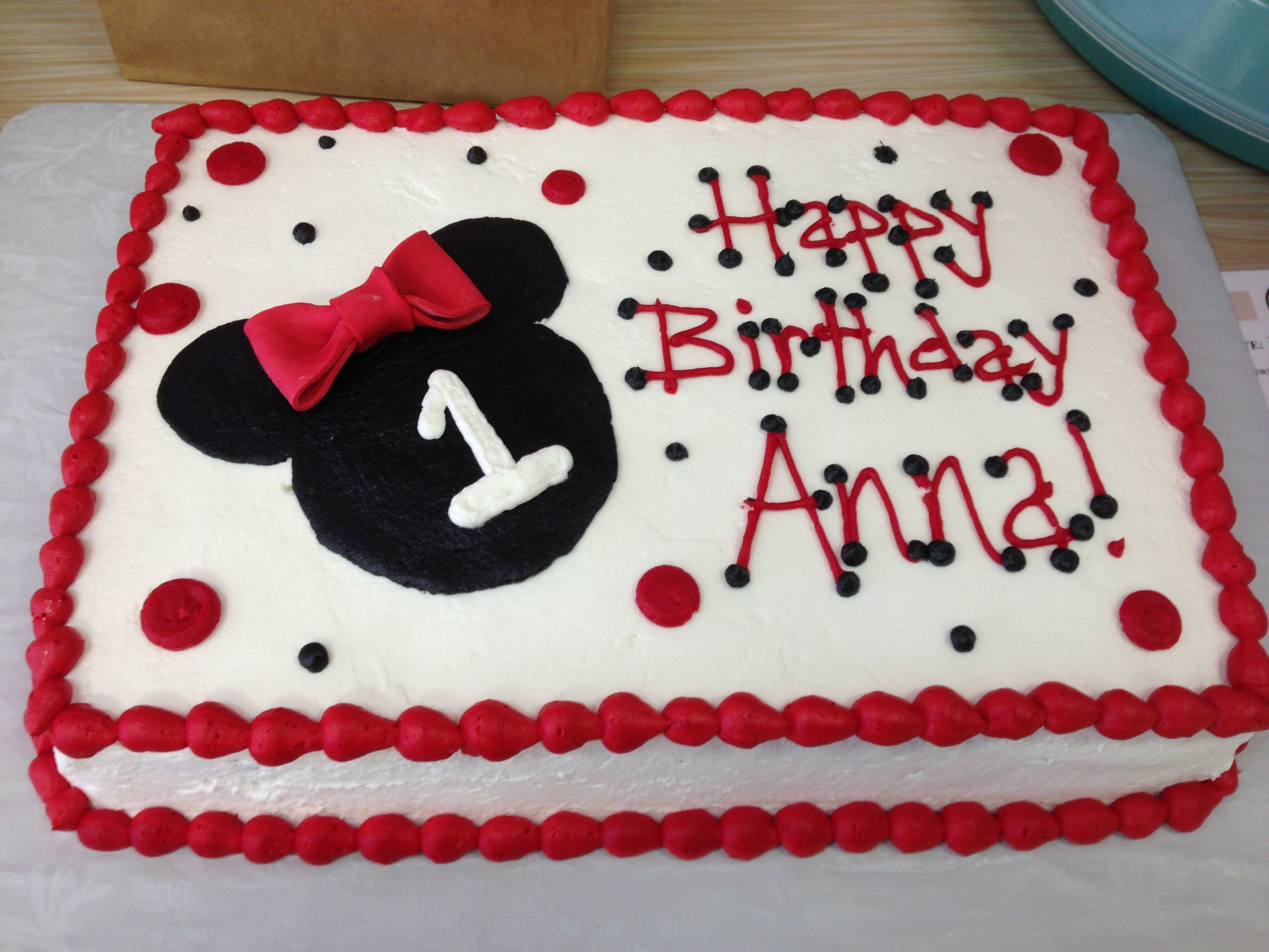 Minnie Mouse Sheet Cake.JPG (3264x2448) minnie mouse ...