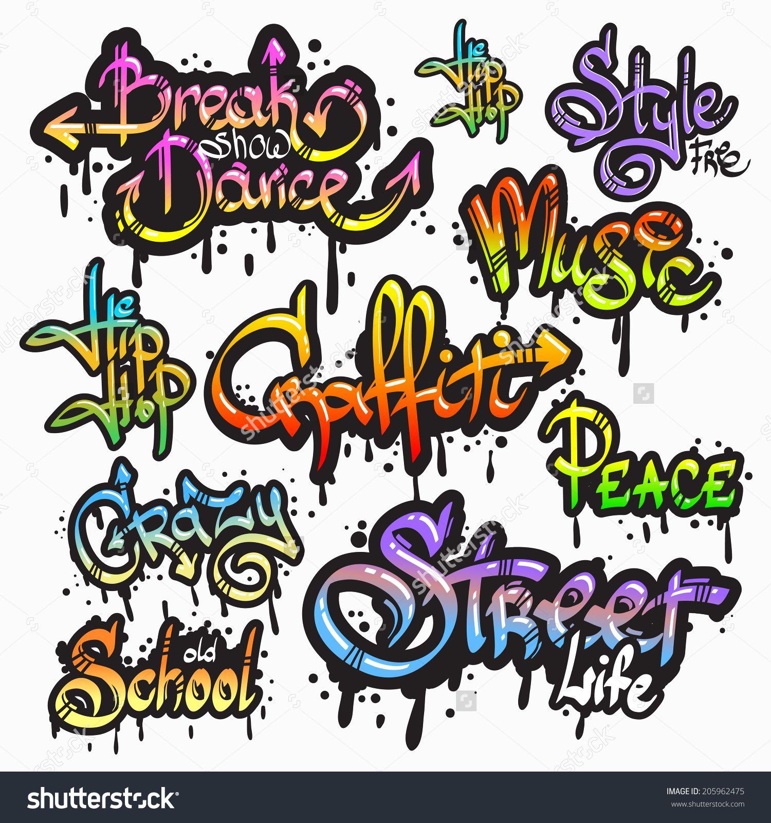 Street doodle art words google 搜尋