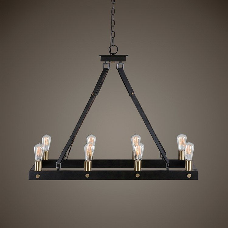 Marlow Eight Light Chandelier Rectangle Chandelier Rectangular Chandelier Chandelier
