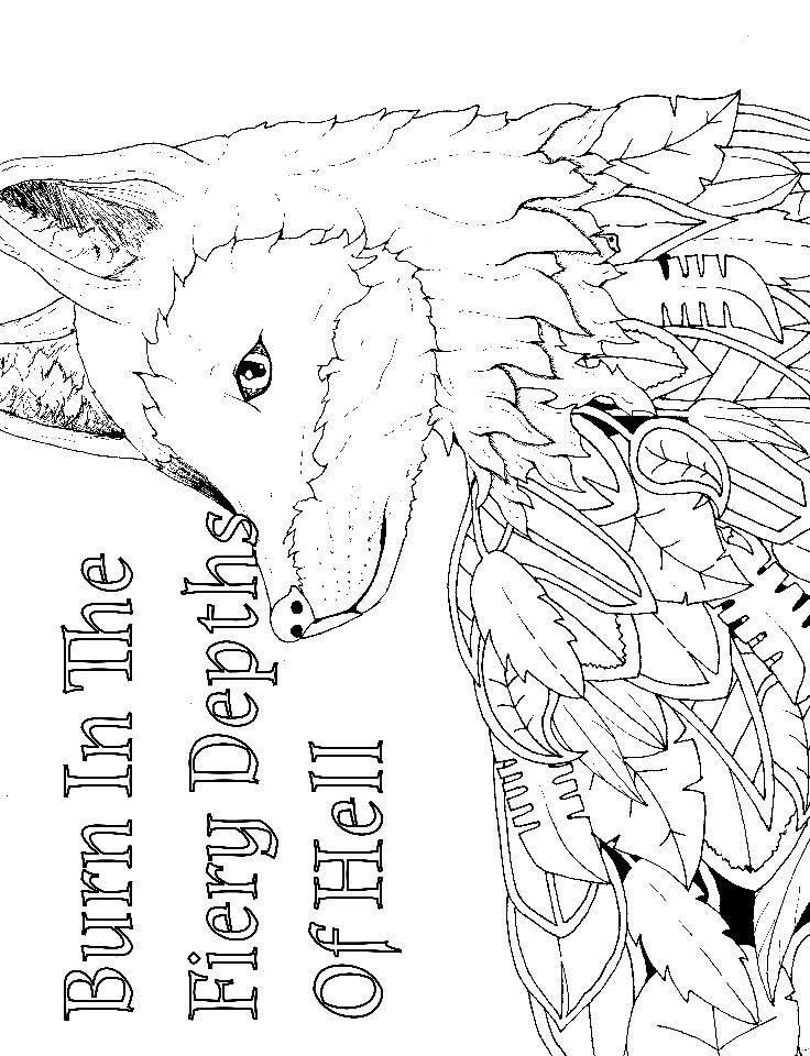 14 FREE Printable Swear Word Coloring Pages At Swearstressaway.com   This  Swear Word Coloring Page Comes From The Book Sweary Animals Available On U2026