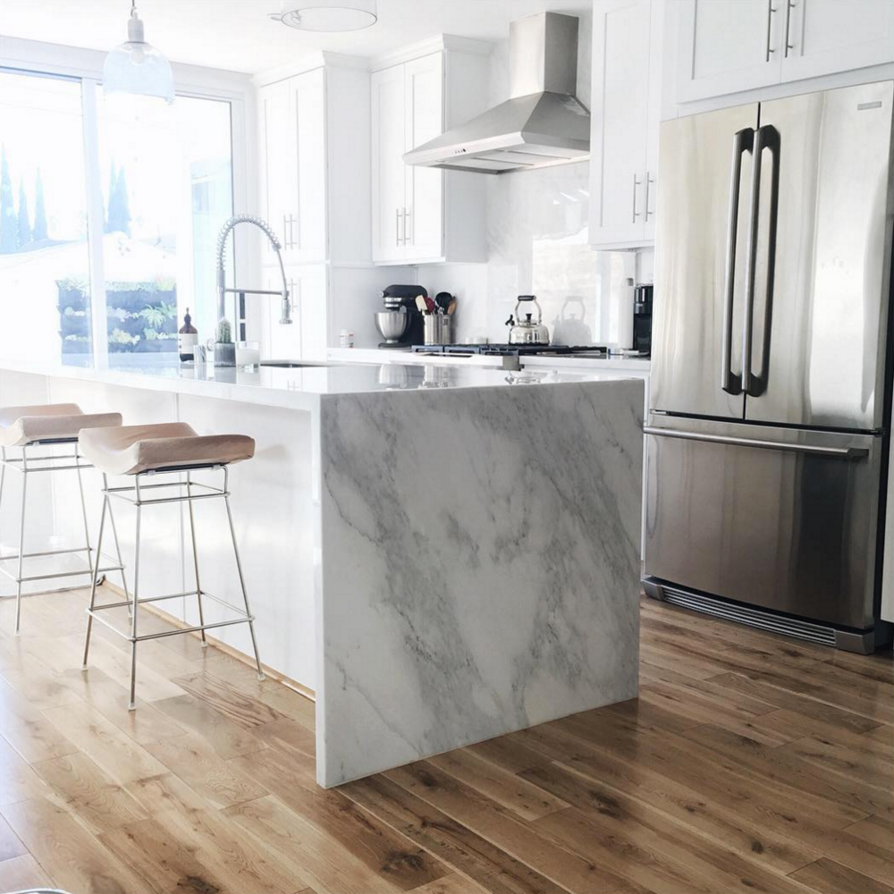 White Kitchen Counter: Damsel In Dior Blogger Jacey Duprie's Home