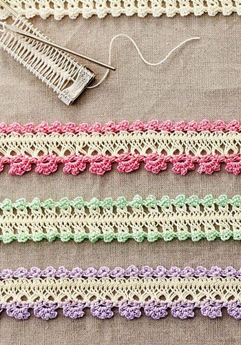 HAIRPIN LACE JEWELRY - Picture only.  Could be edging too.                                                                                                                                                      More