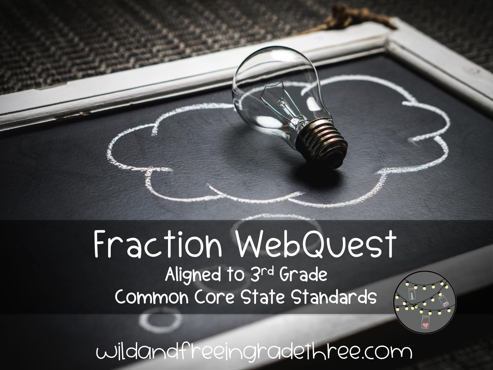 Third Grade Fraction Webquest