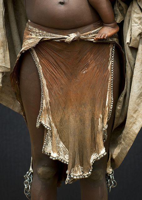 Image result for dinka goat skin skirt