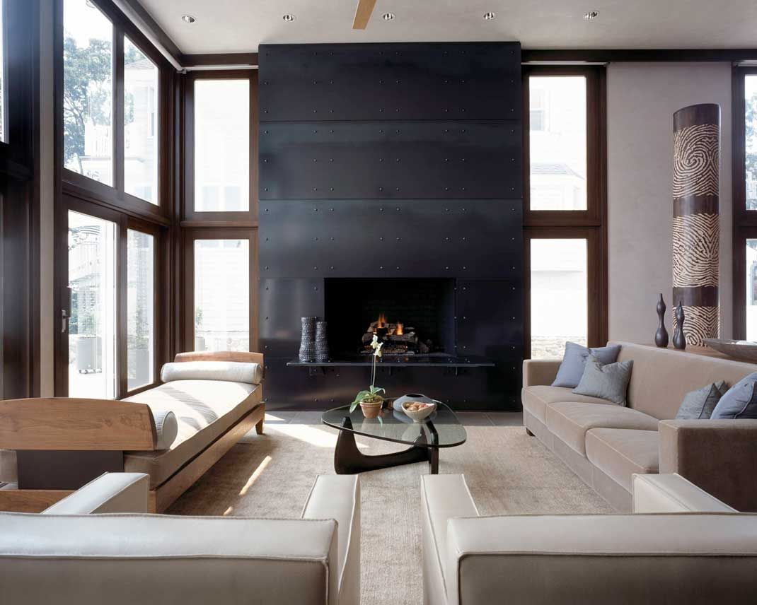 Elegant Home Fireplace By The Fireplace Man Living Room Design Modern Fireplace Surrounds Contemporary Fireplace