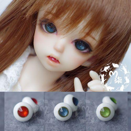 M7-glass-eyes-shiny-non-pupil-bjd-SD-MSD-YO-SD-doll-use-10mm-18mm