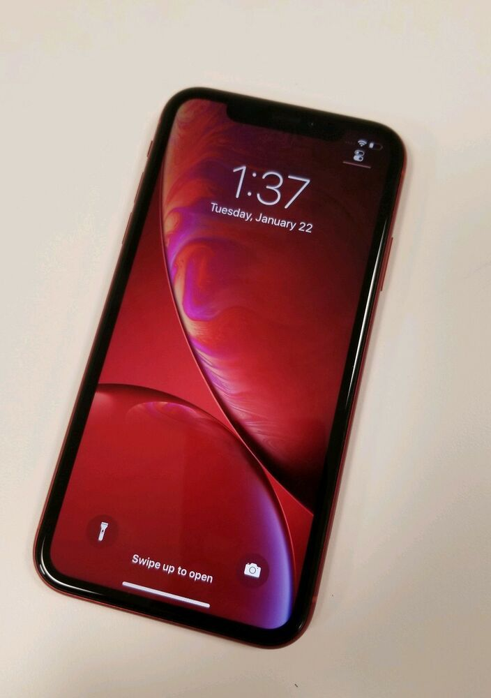Apple iPhone XR RED 64GB (Verizon) Iphone XR
