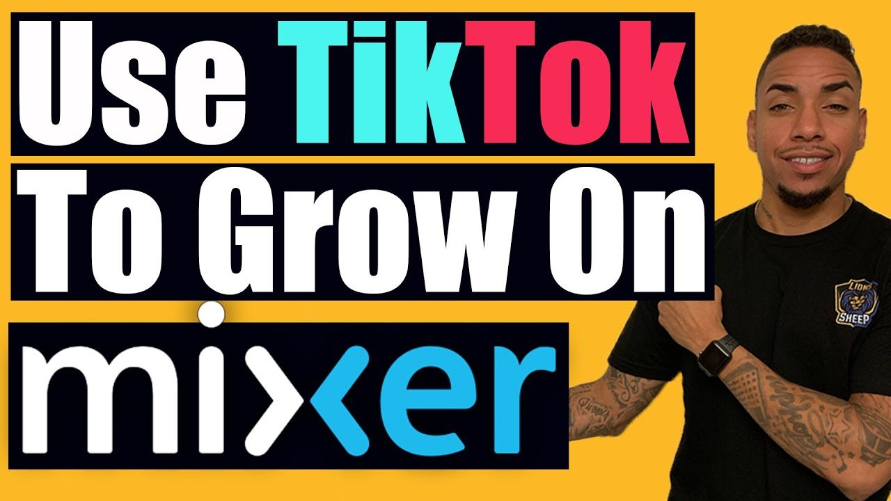 How To Use Tiktok For Beginners Grow Your Mixer Stream Streaming Social Media Apps Being Used