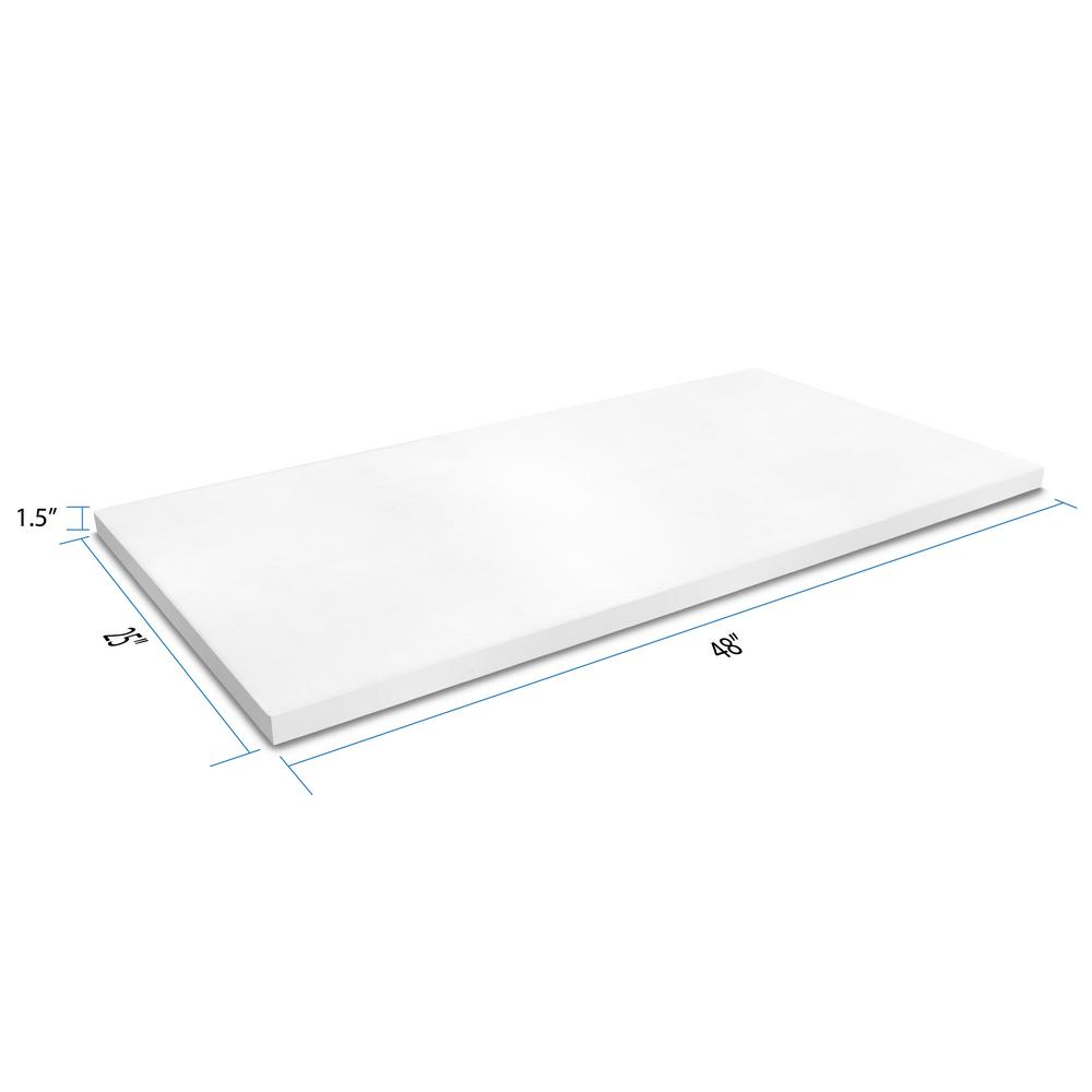 Remanufacturing Design 4 Ft Solid Surface Countertop In Frost
