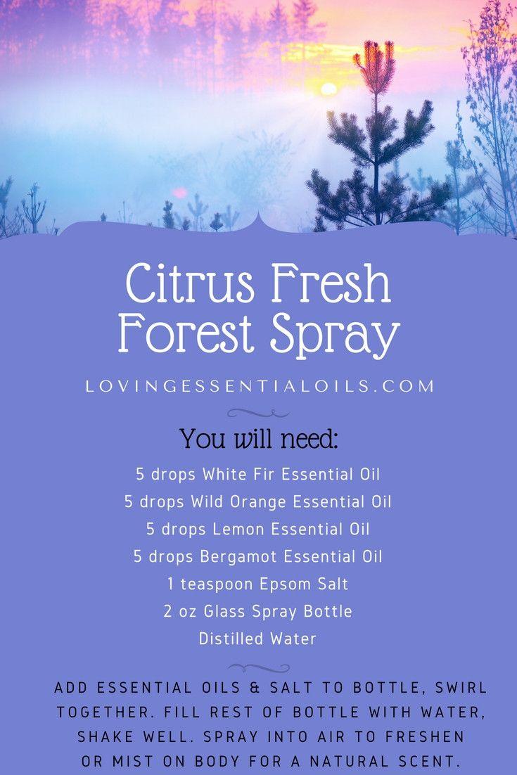 10 Fall Inspired Essential Oil Spray Recipes Essential Oil Spray Recipes Essential Oils Room Spray Essential Oil Spray
