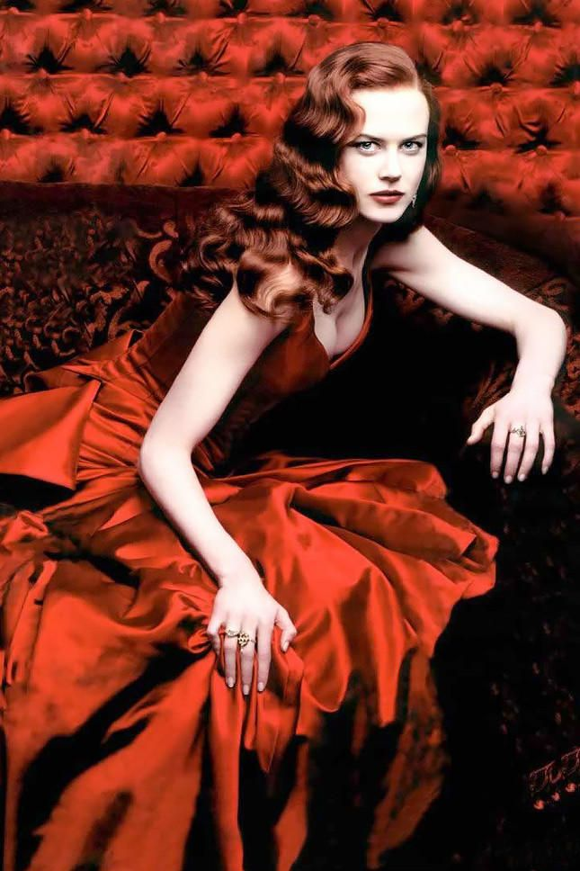 20 культовых красных платьев мирового кино - ФОТО   Moulin ...