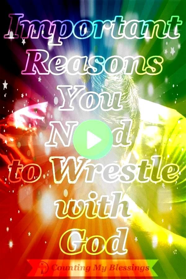 Ive learned that when I wrestle with God in prayer Im left with a limp but more importantly I leave blessed Id love to tell you about itIve learned that when I wrestle wi...