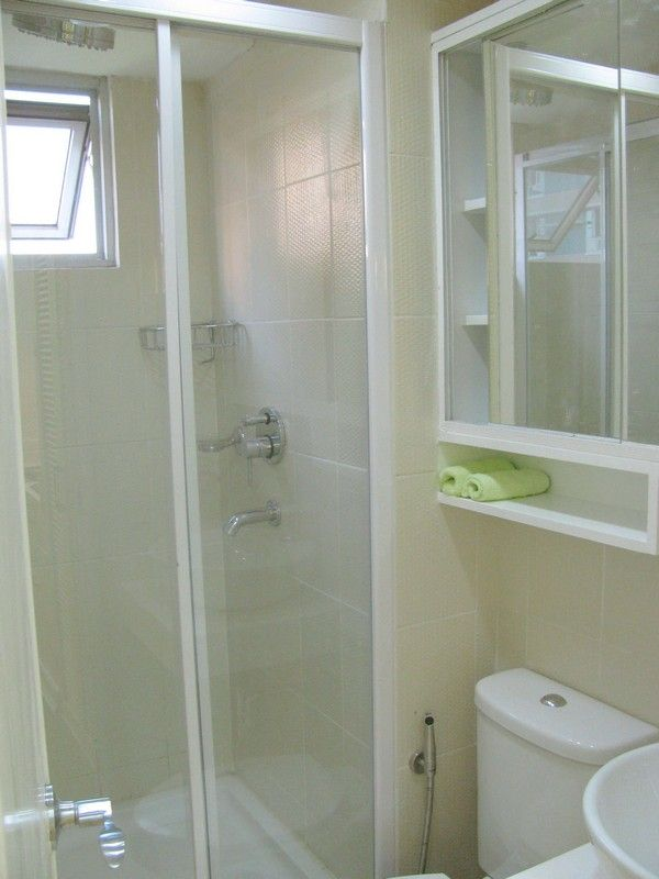 Studio Apartment Bathroom view9 lovely twin 20sqm apartments with a clever design | small