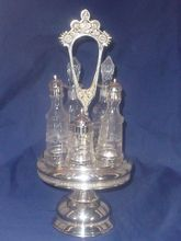 Antique Silver Server Castor, Art Nouveau,  Hartford CT, Victorian 1880's, Salt Pepper Condiments