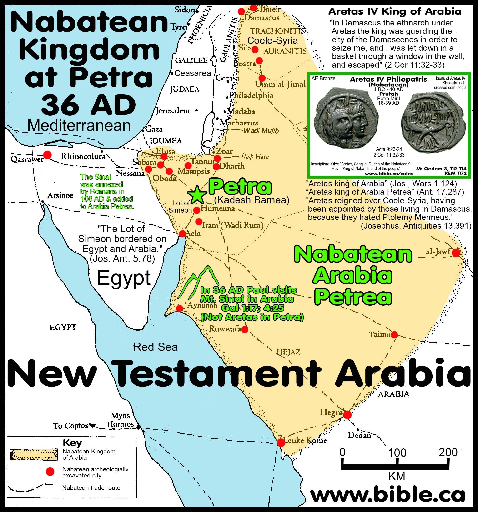 The Historical Transjordan Territory Of The Edomites In The Bible - Map of egypt during exodus