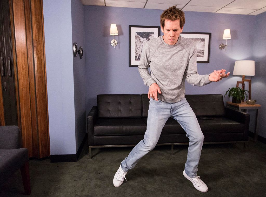 Kevin Bacon Reenacts Footloose Dance Kevin Bacon Jimmy Fallon Bacon