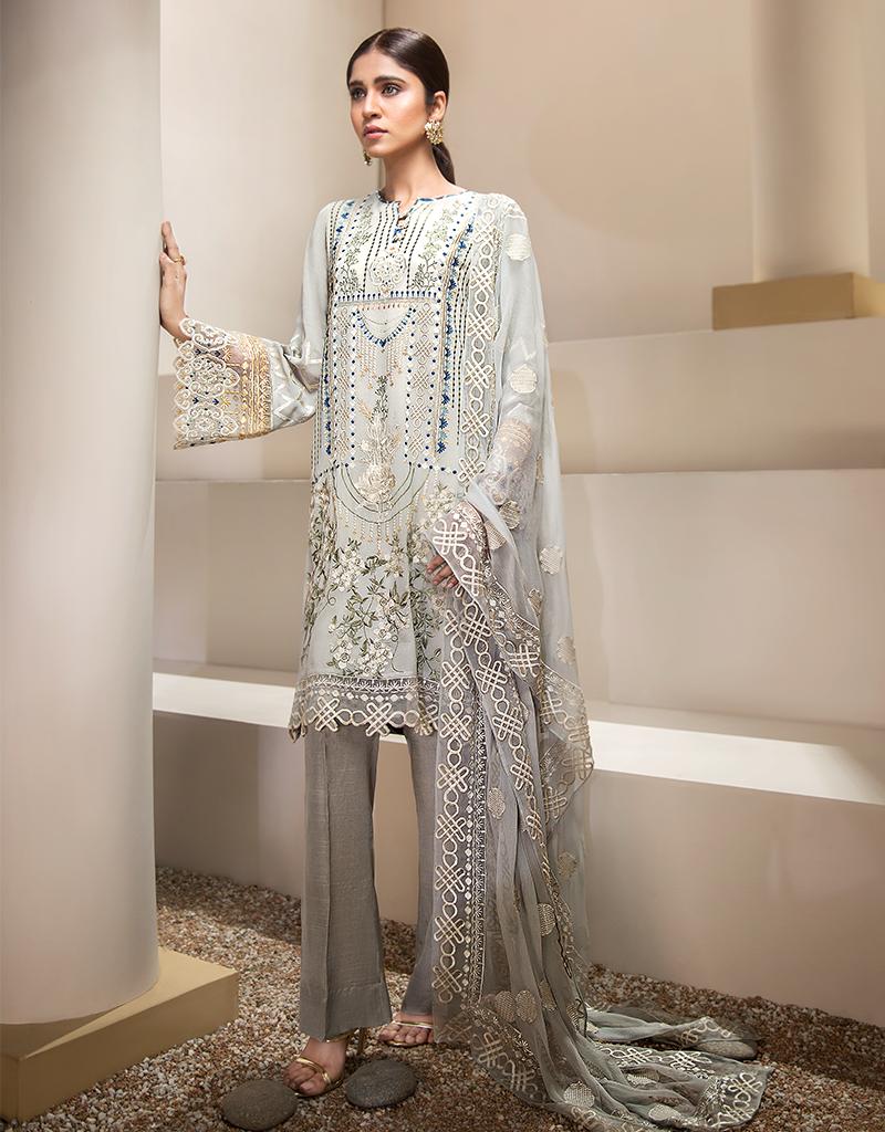 0680b9de38 Resham Ghar Luxury Collection 2019 #lawn #lawndress #summerlawn  #shalwarkameez #designerlawn #Pakistanidress #pakistanistyle  #pakistanifashion