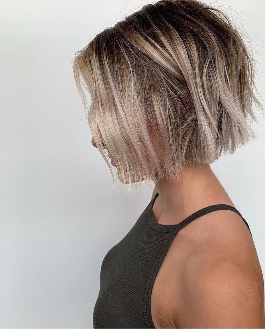 30++ Chin length shaggy bob hairstyles information