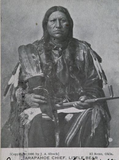Little Bear - Southern Arapaho - 1906