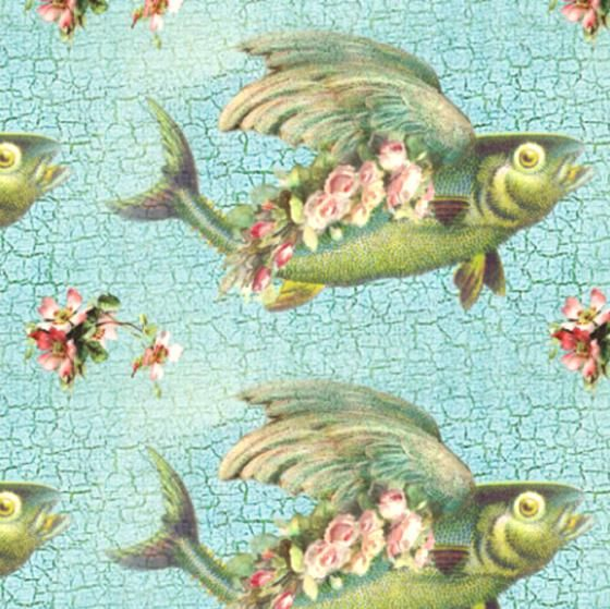 FISH PATTERNS FROM SPOONFLOWER.COM