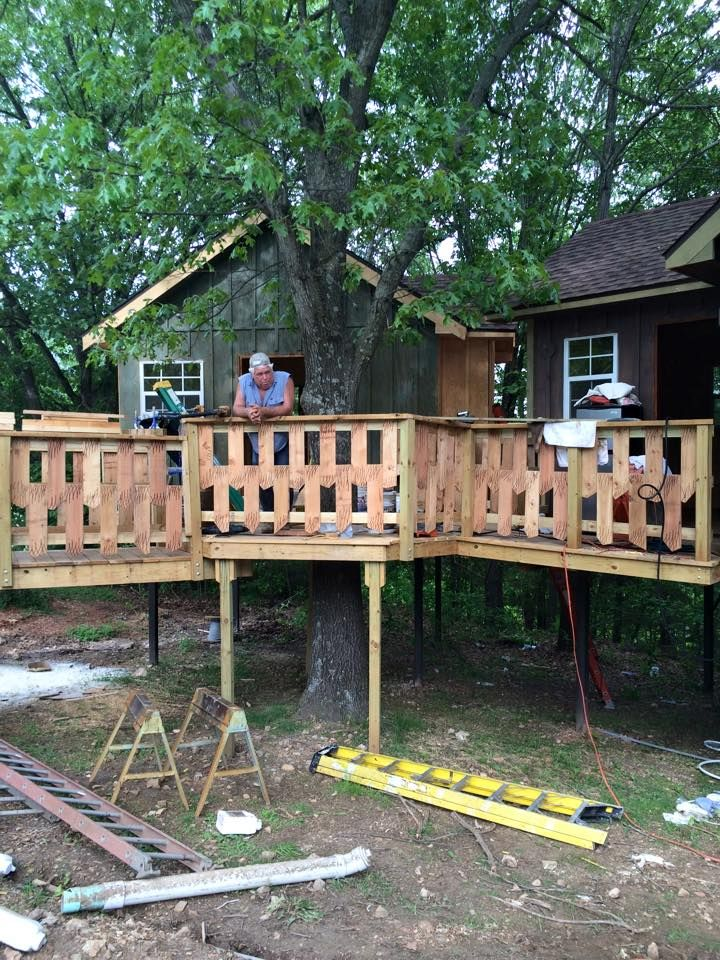 Delicieux New Treehouse Cabins Nearly Complete At Branson Treehouse Adventures