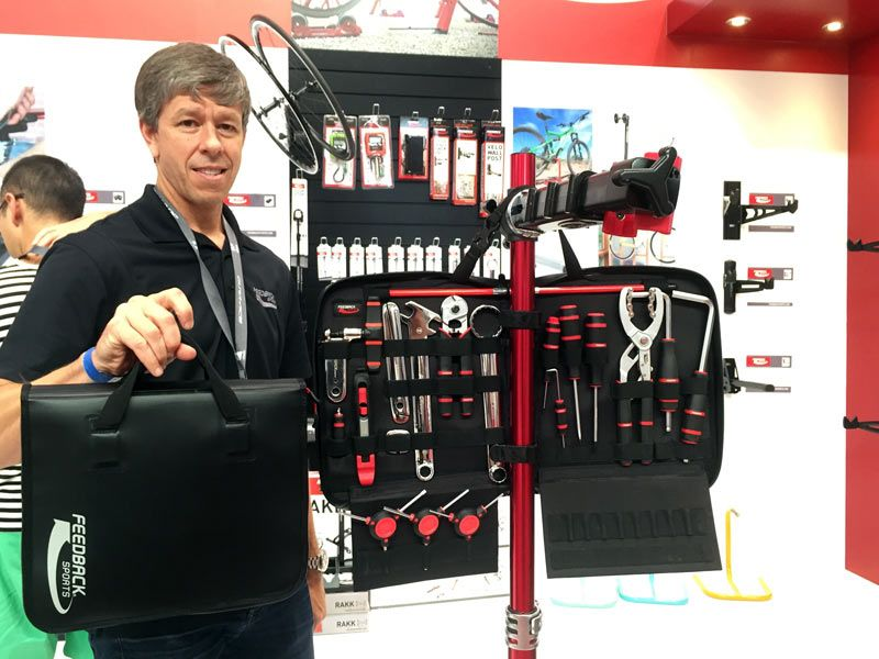 Feedback Sports has made the workstands that hold your bike while you use other brands' tools to fix it, but they're about to give you a nearly complete home workshop solution. Or, at least, an incredibly capable grouping of tools for heading to the trail, race or epic road trip.. The idea was to build …