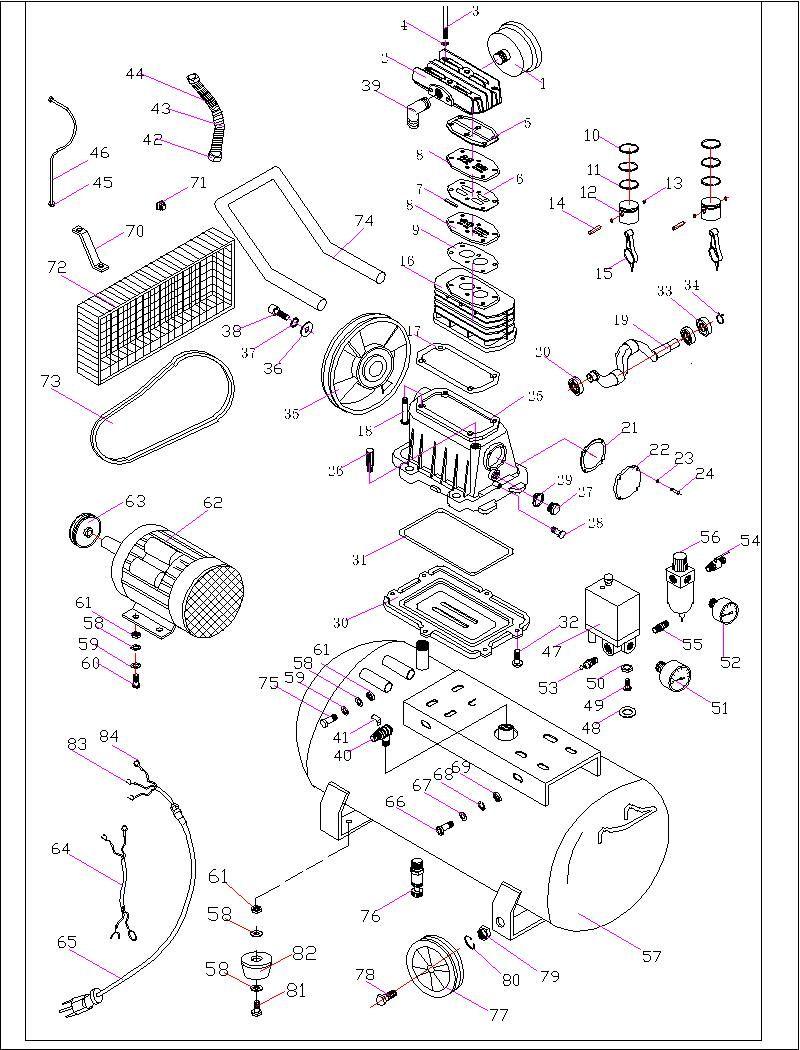 Fort Wayne Air Compressor Wiring Diagram Drawing On