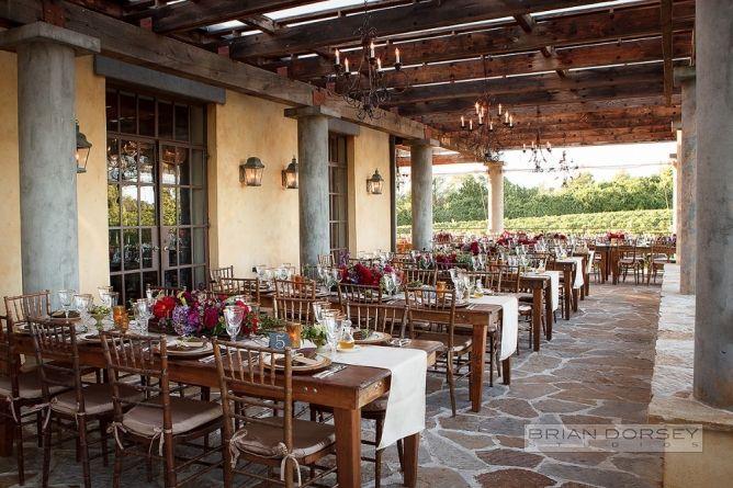 Wedding Reception Wolffer Estate Vineyard Flowers By Pennington Sagaponack Http