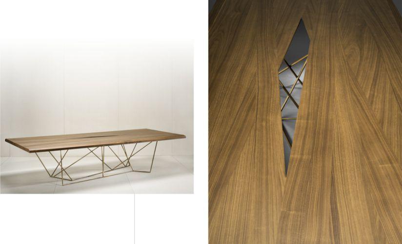 Bruno Moinard Editions Asan Dining Table #brunomoinard