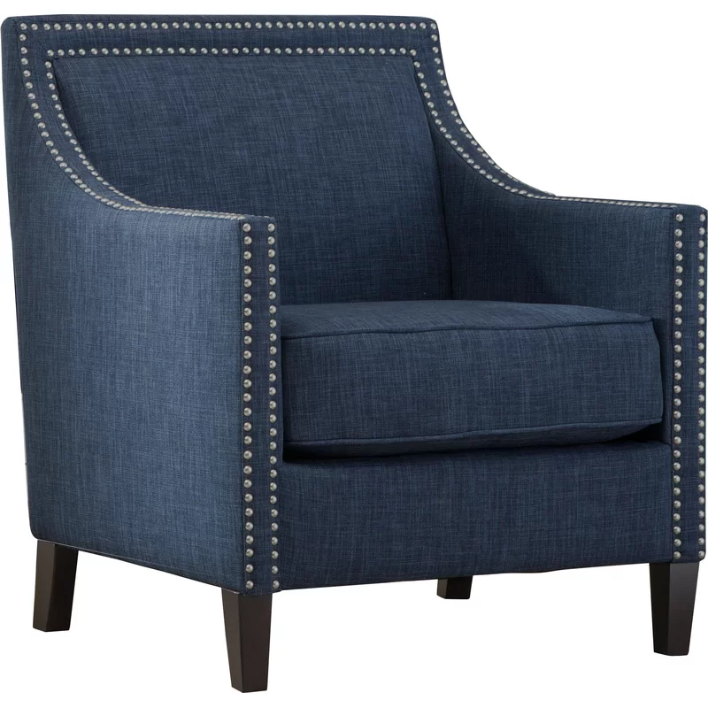 Turberville Armchair Armchair Accent Chairs Blue