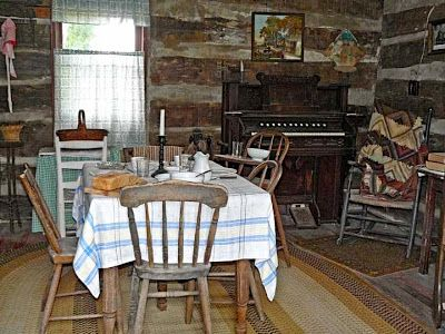 Pioneer One Room Cabin Interior Bing Images Country