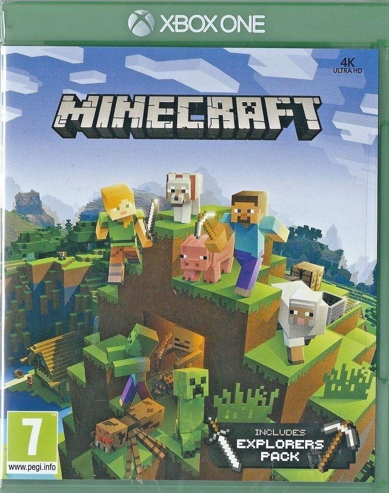 Minecraft Includes Explorers Pack Xbox One NEW Pinterest Xbox - Minecraft unity spiele
