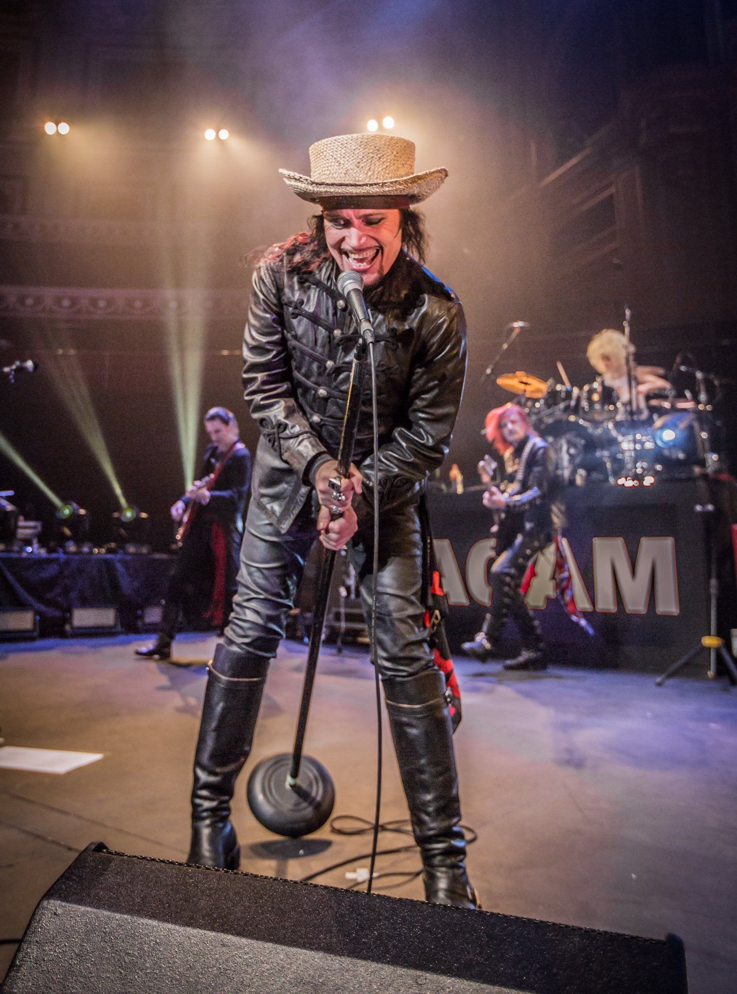 Adam Ant at the Royal Albert Hall, 17 May 2017 © Iain Reid, Beanotown Photography.