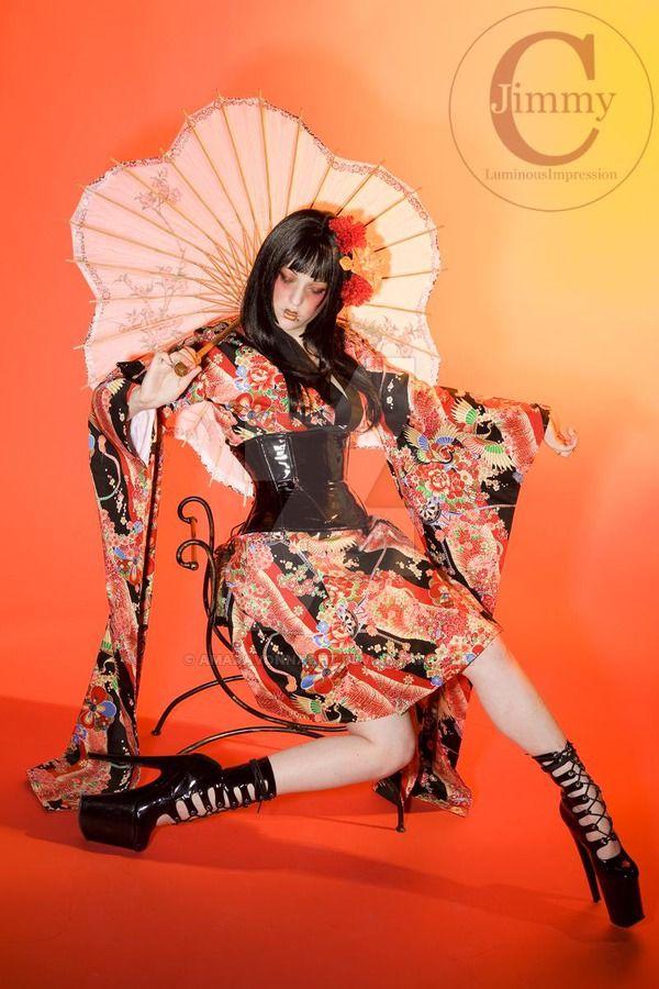 Neo Punk Geisha by AmaraVonNacht