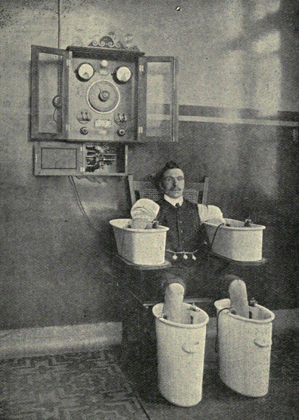 Electrical baths 1910-1916 \