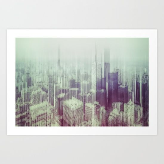 Gallery quality Giclée print on natural white, matte, ultra smooth ...