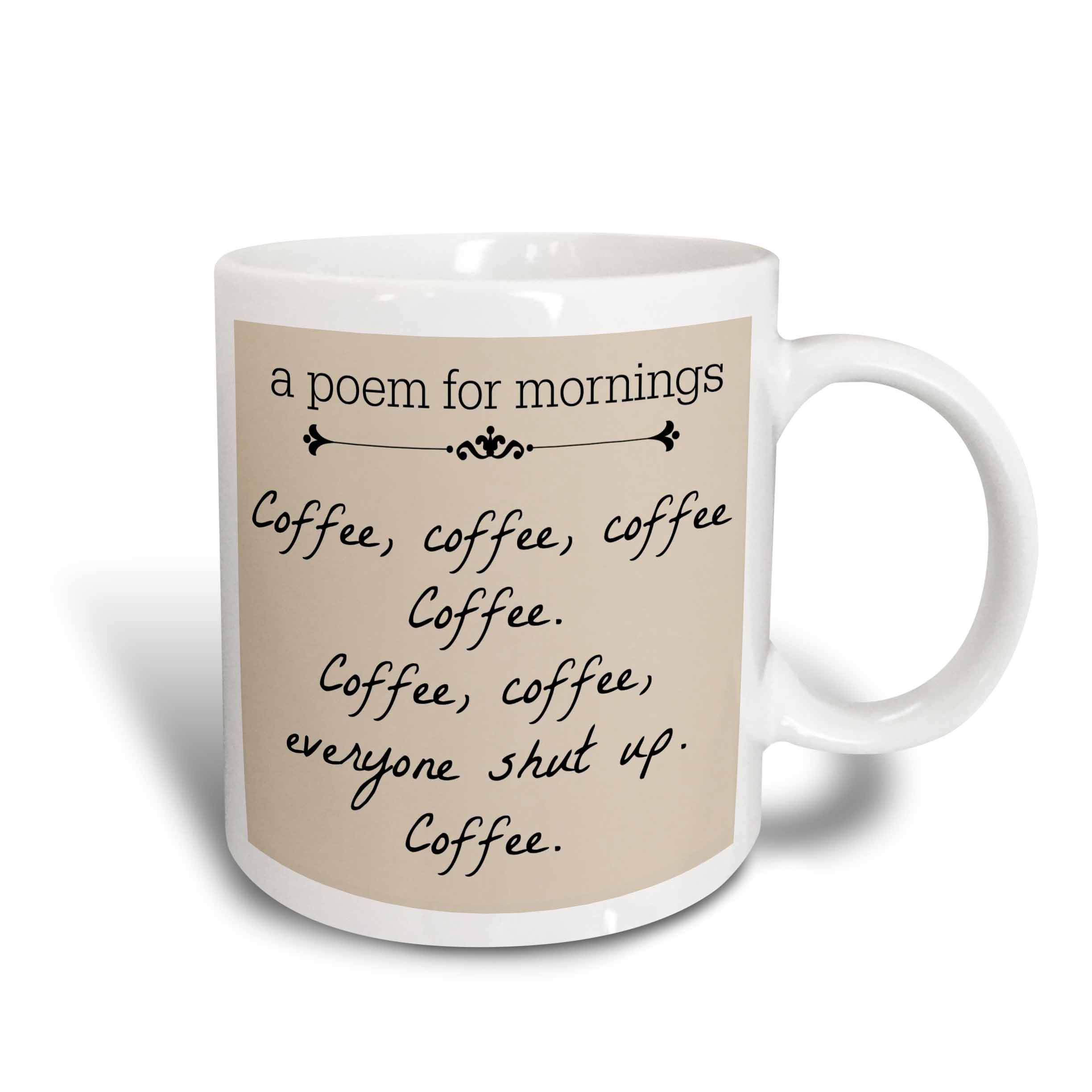 This is what I need!!!! A poem for mornings, coffee