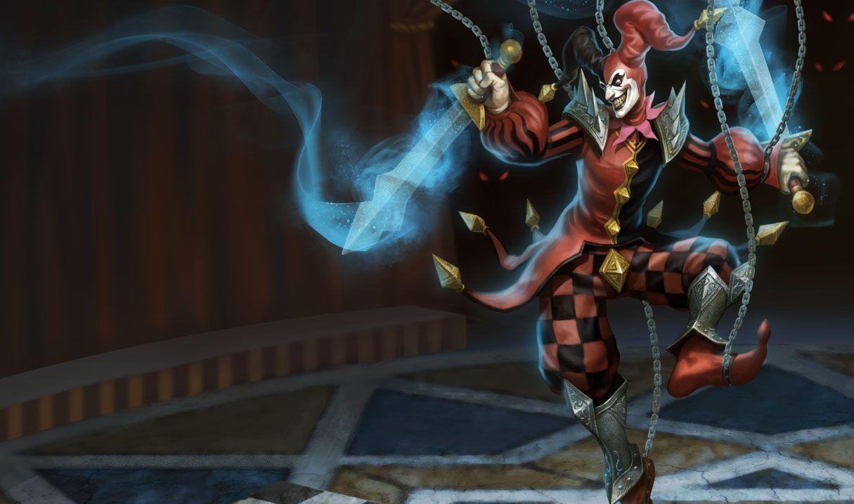Wicked Jester Art Found Here Shaco Fan Art Wicked Clowns