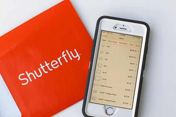 Saving Time & Money with the Shutterfly App App, Saving