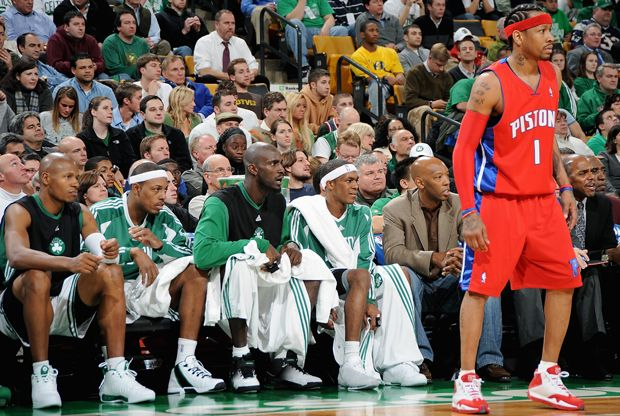 #NBA: Allen Iverson intento formar un súper equipo con Kevin Garnett