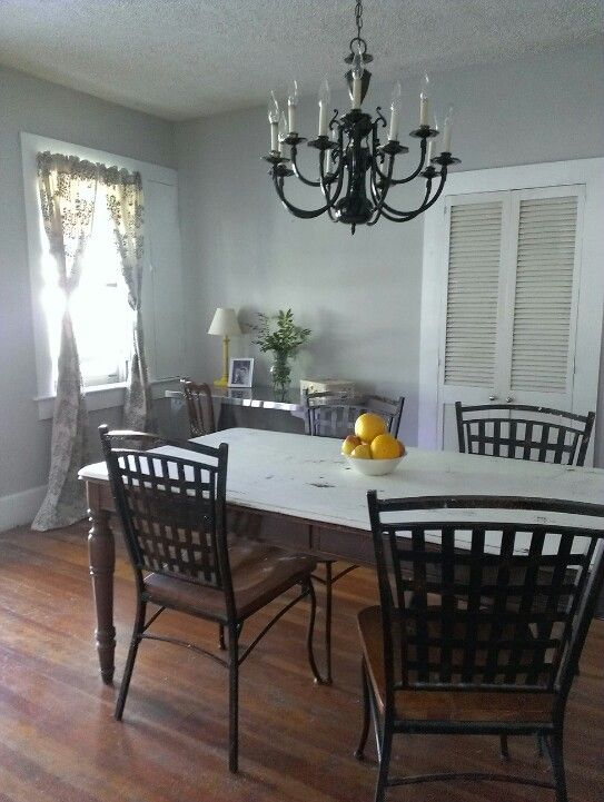 Valspar Filtered Shade Gray For The Dining Room
