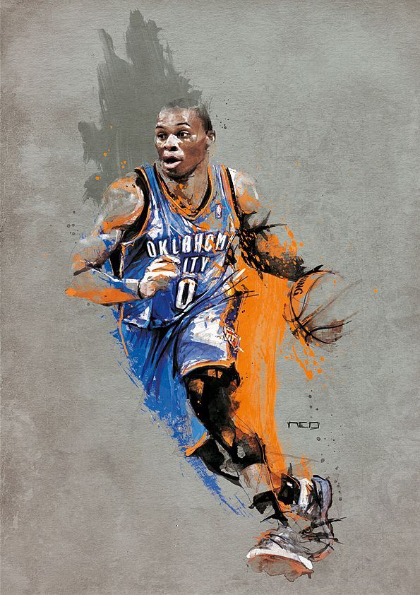 Florian NICOLLE : Russell Westbrook   Graphic Design ...
