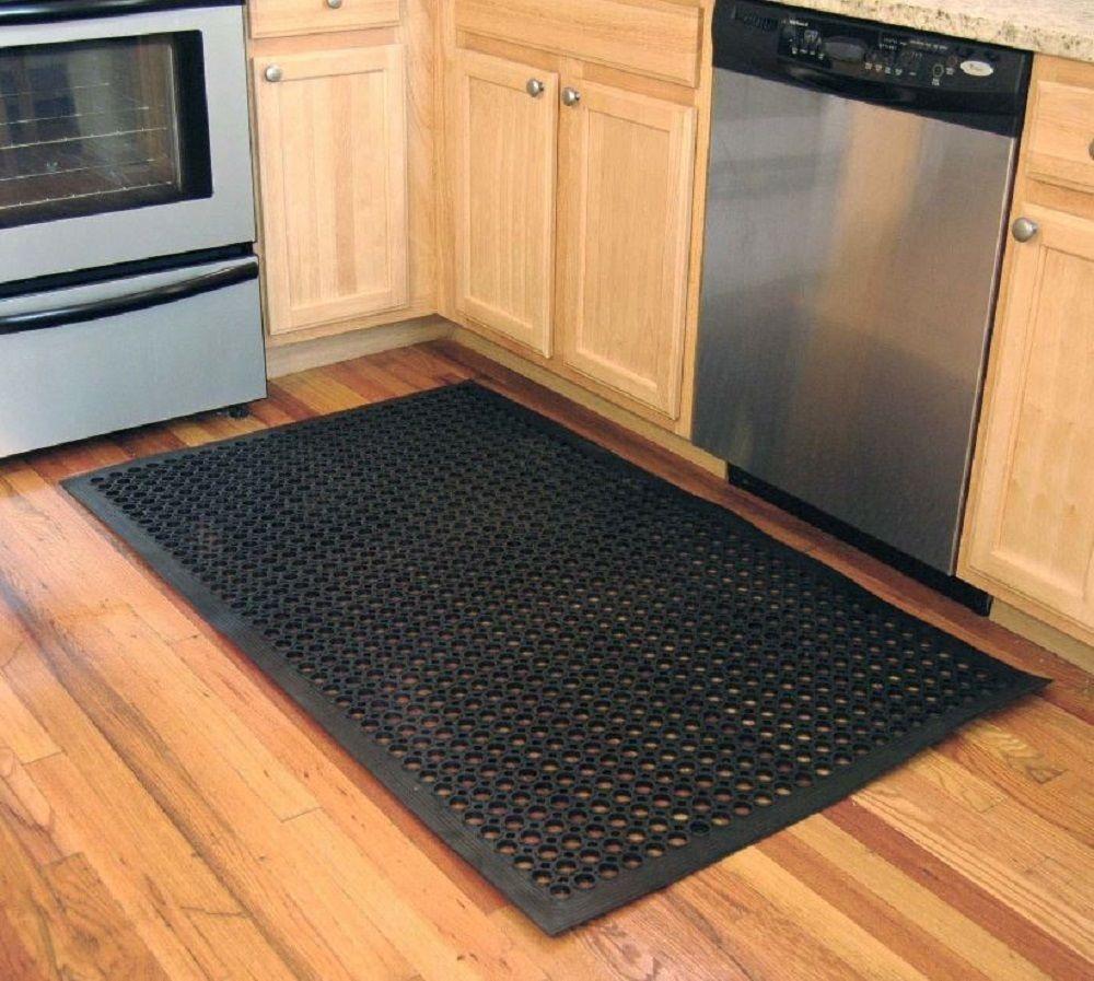Anti Fatigue Kitchen Floor Mat Non Skid No Slip Rubber Pad