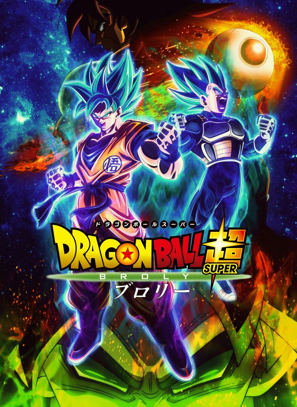 dragon ball super broly  Dragon Ball Super: Broly - The Movie | Dragon Ball | Pinterest ...