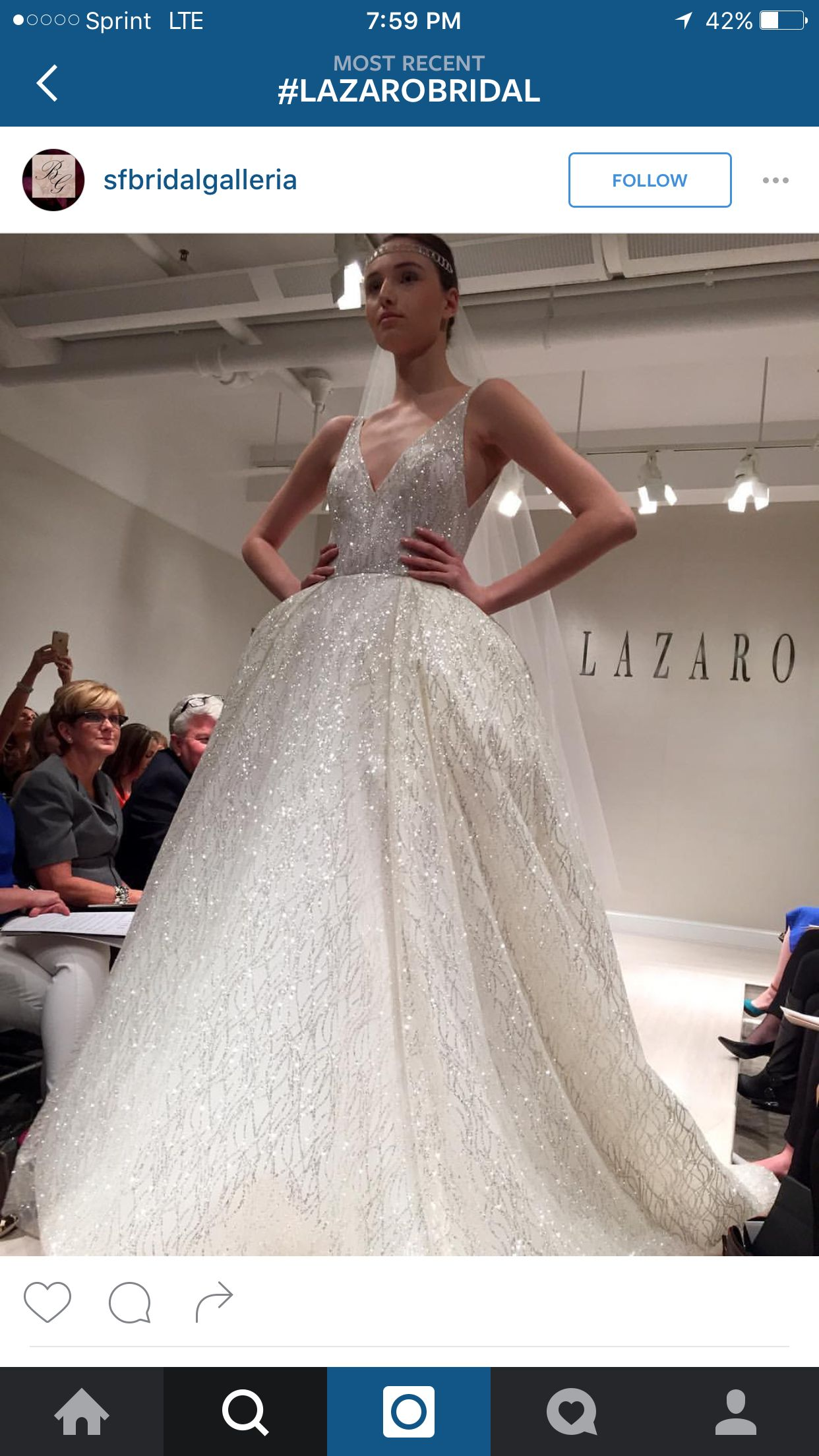 Lazaro!! fall 2017 Style 3662 | Say yes to the dress | Pinterest ...